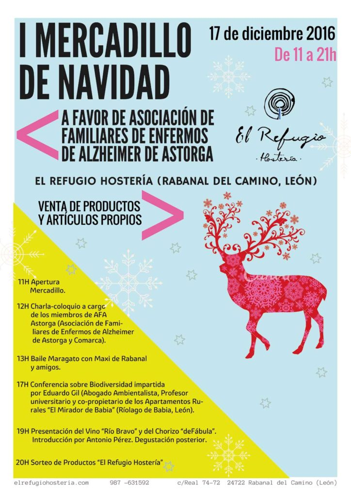 Cartel-Mercadillo-Navideño-RSC-El-Refugio-Hosteria-NARUA