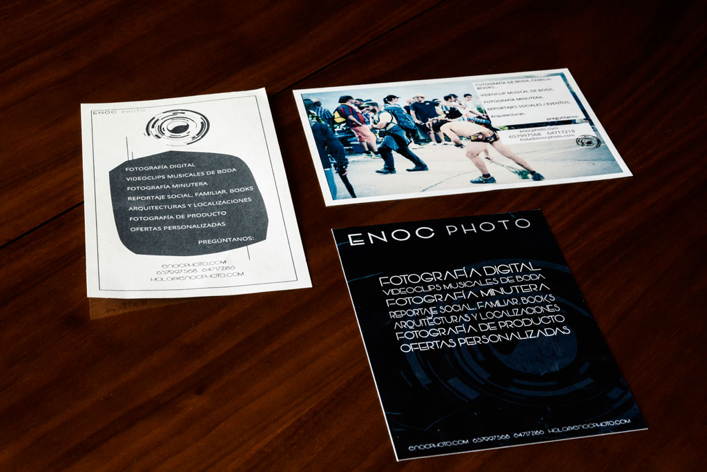 Flyers para Enoc Photo