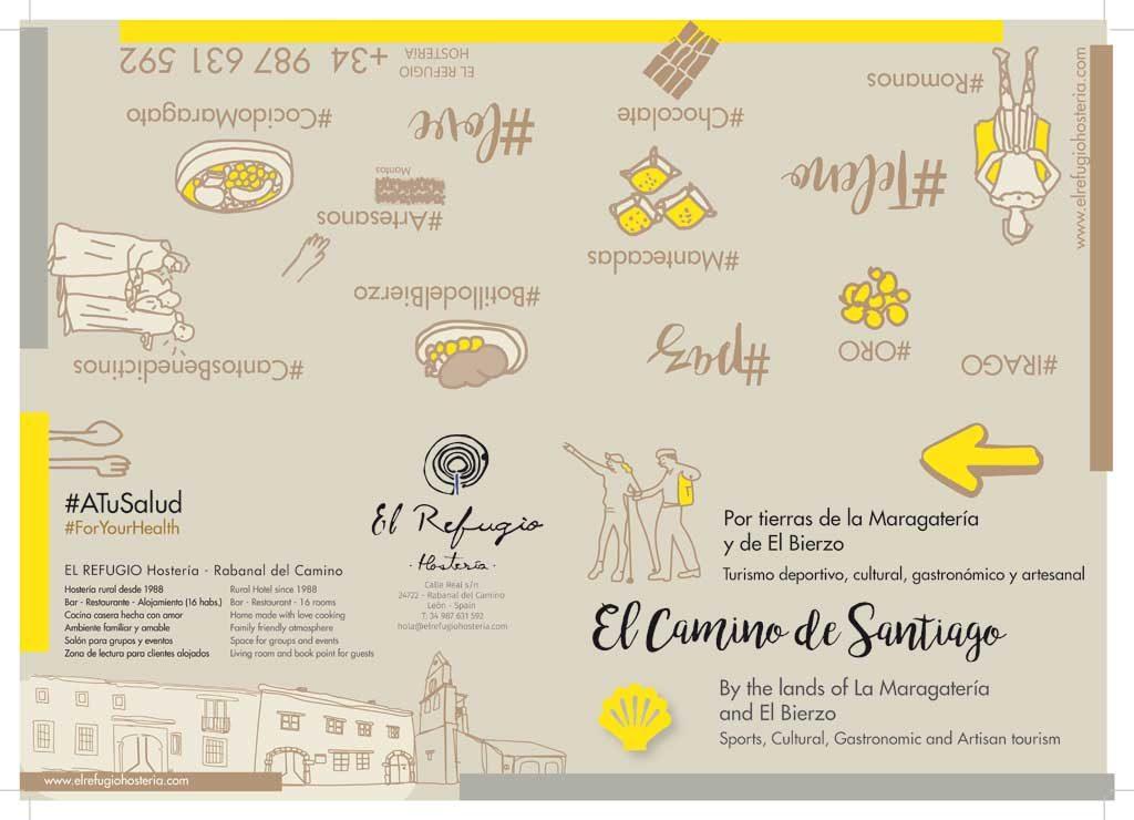 Folleto-Maragateria-Camino-de-Santiago-El-Refugio-Hosteria-NARUA