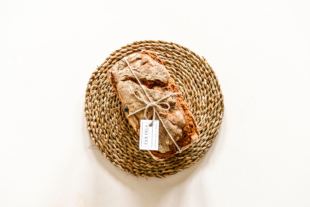 foto pan eco con etiqueta pan esla